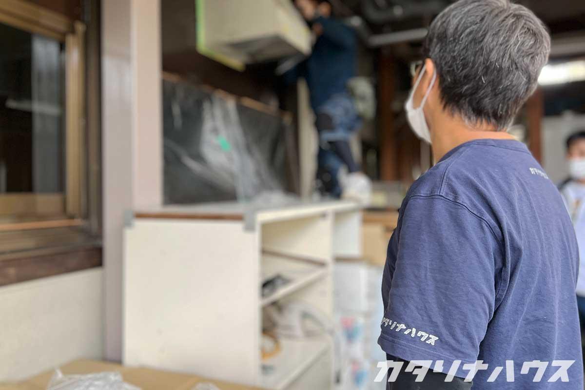 久万高原町の店舗改修